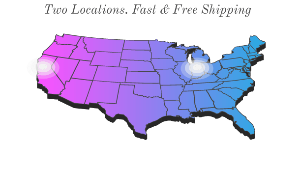 free everyday shipping with no minimum purchase