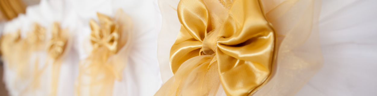 Explore 5 Ways to Tie a Wedding Chair Bow or Sash