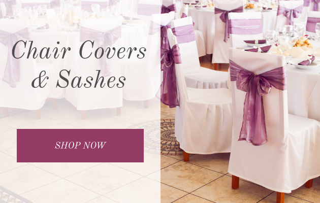 shop chair covers and chair sashes