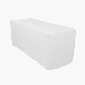 shop polyester fitted tablecloths