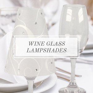 shop wine glass lampshades