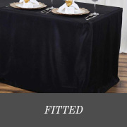 shop fitted tablecloths